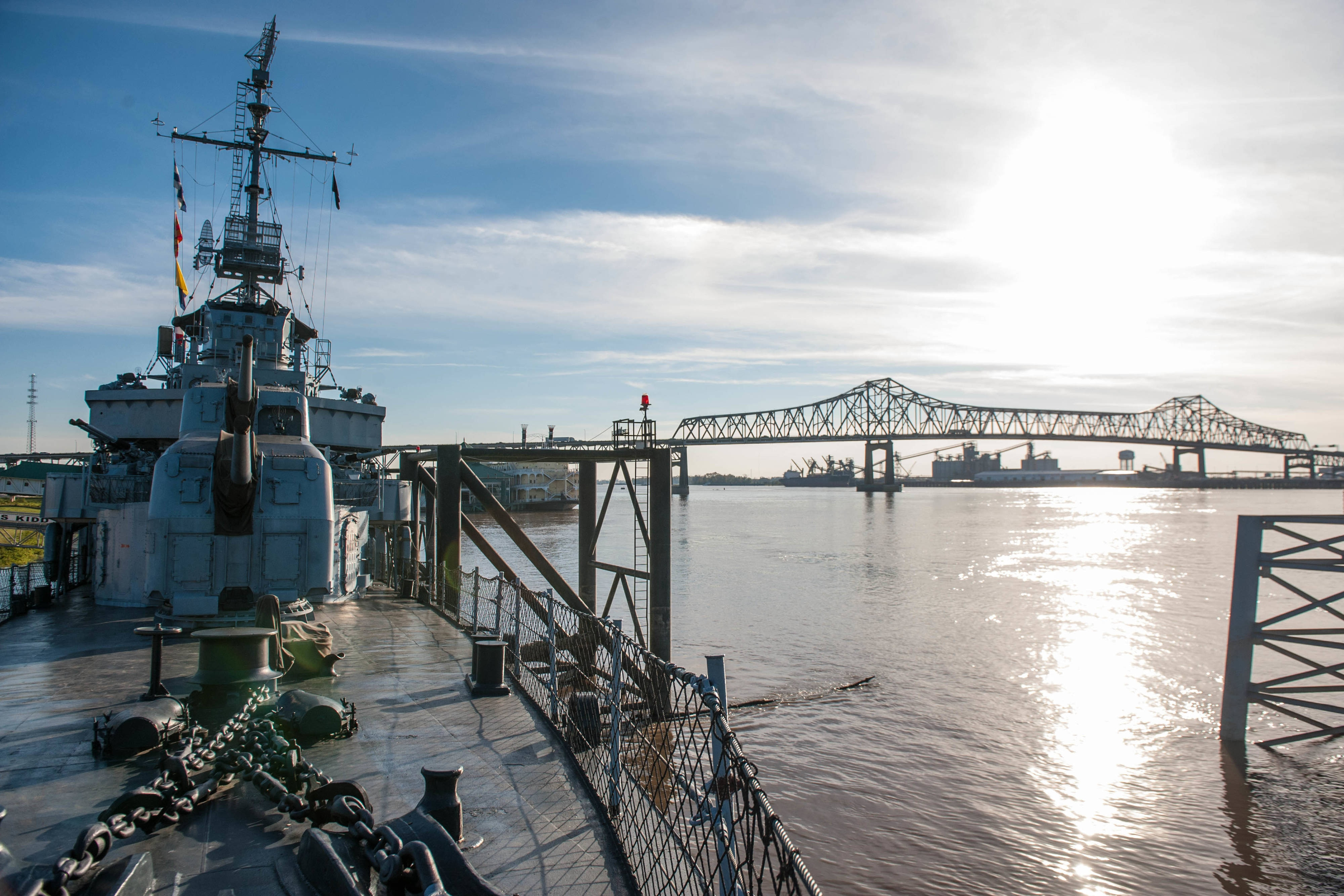 Baton Rouge, Louisiana USS Kidd