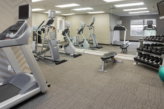 Baton Rouge Hotel Fitness Center