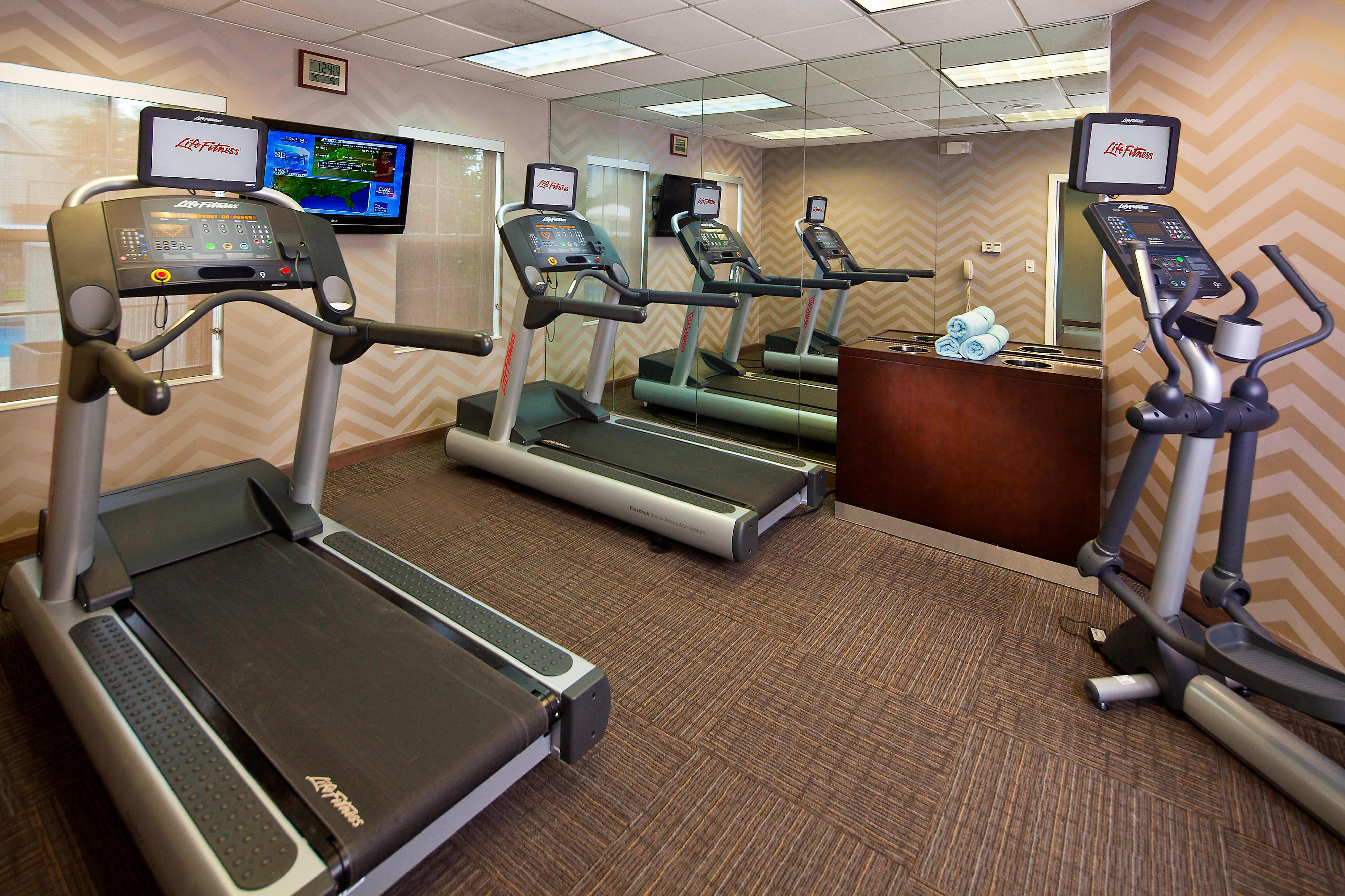 Residence Inn Baton Rouge Fitness Center