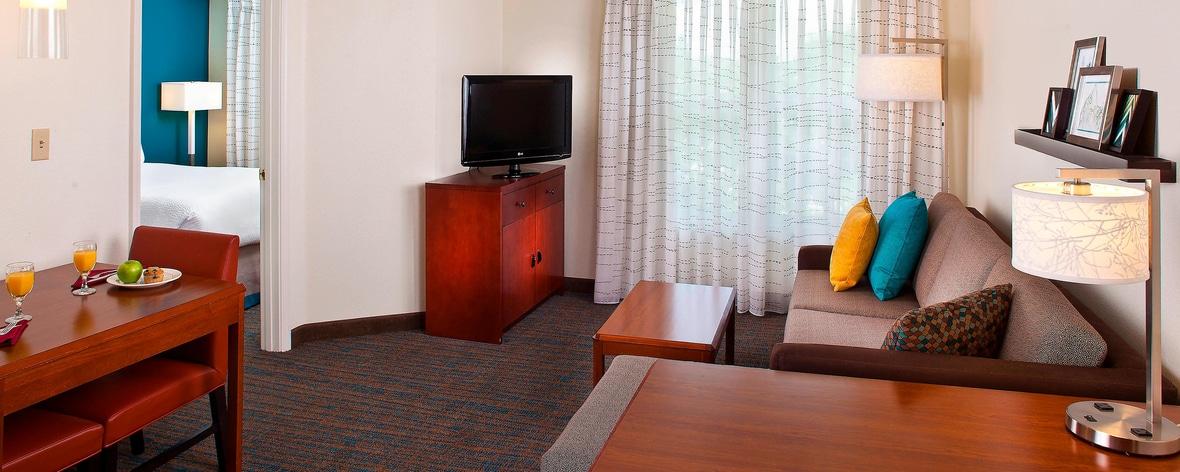 Suite mit einem Schlafzimmer im Residence Inn Baton Rouge