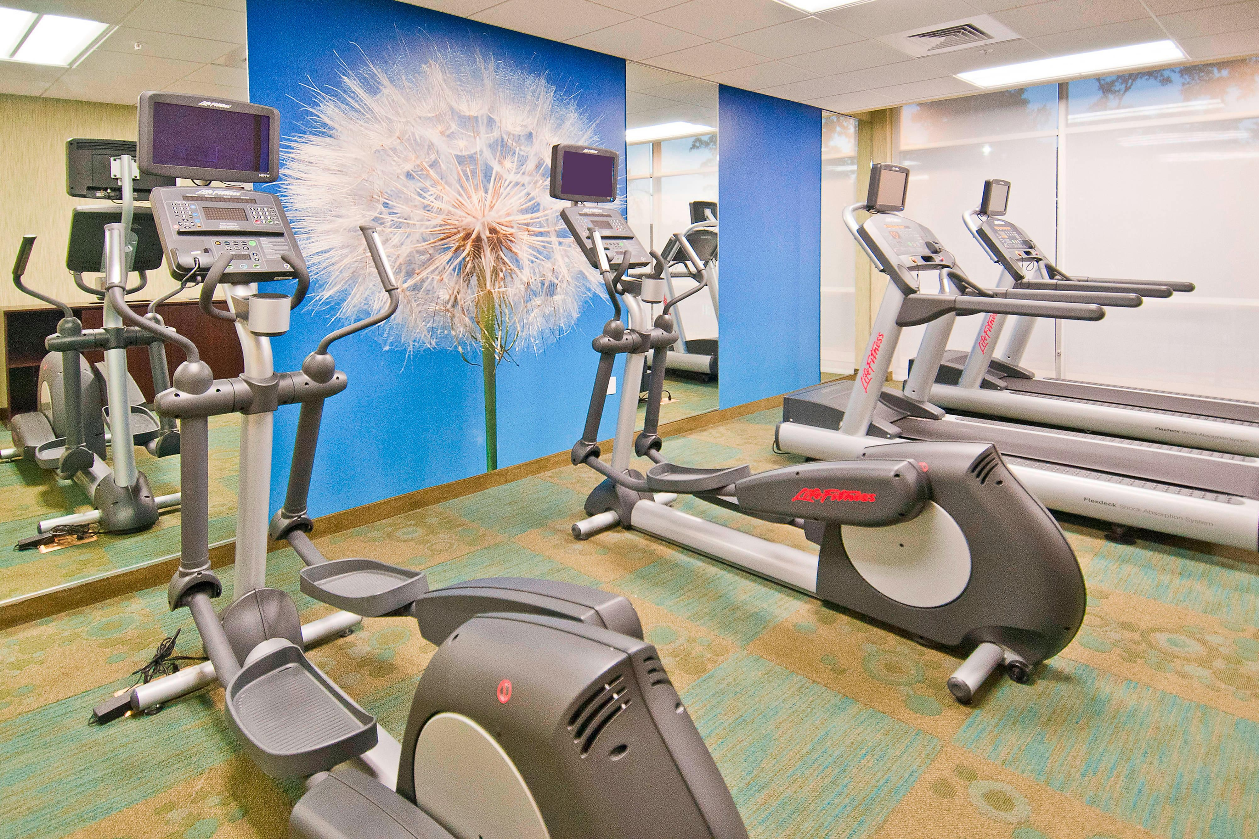 Gonzales hotel fitness center