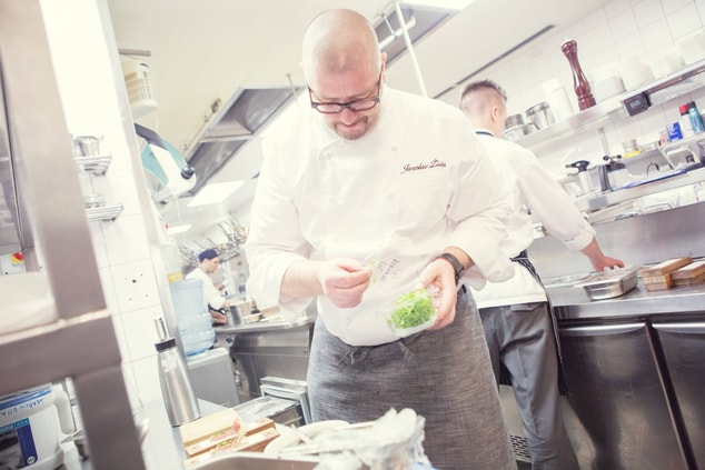 Executive Chef In Action