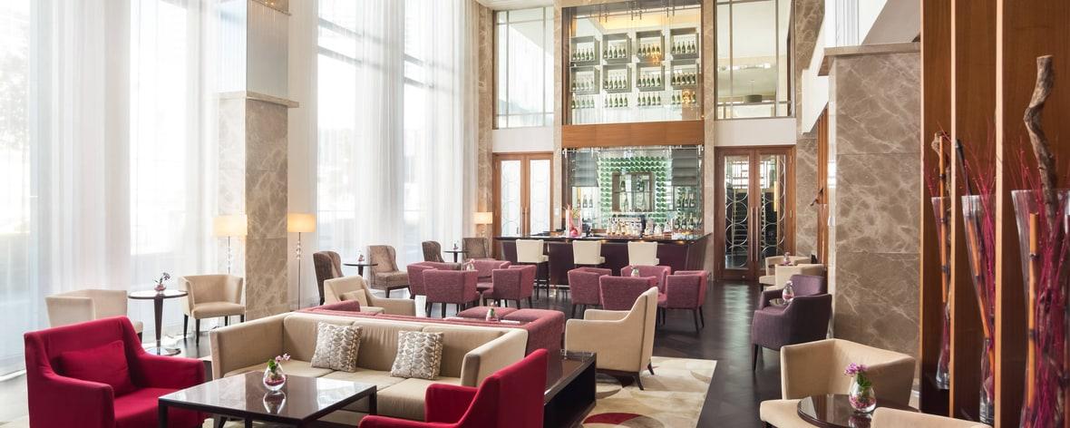 Bar-salon du lobby Port Wilson