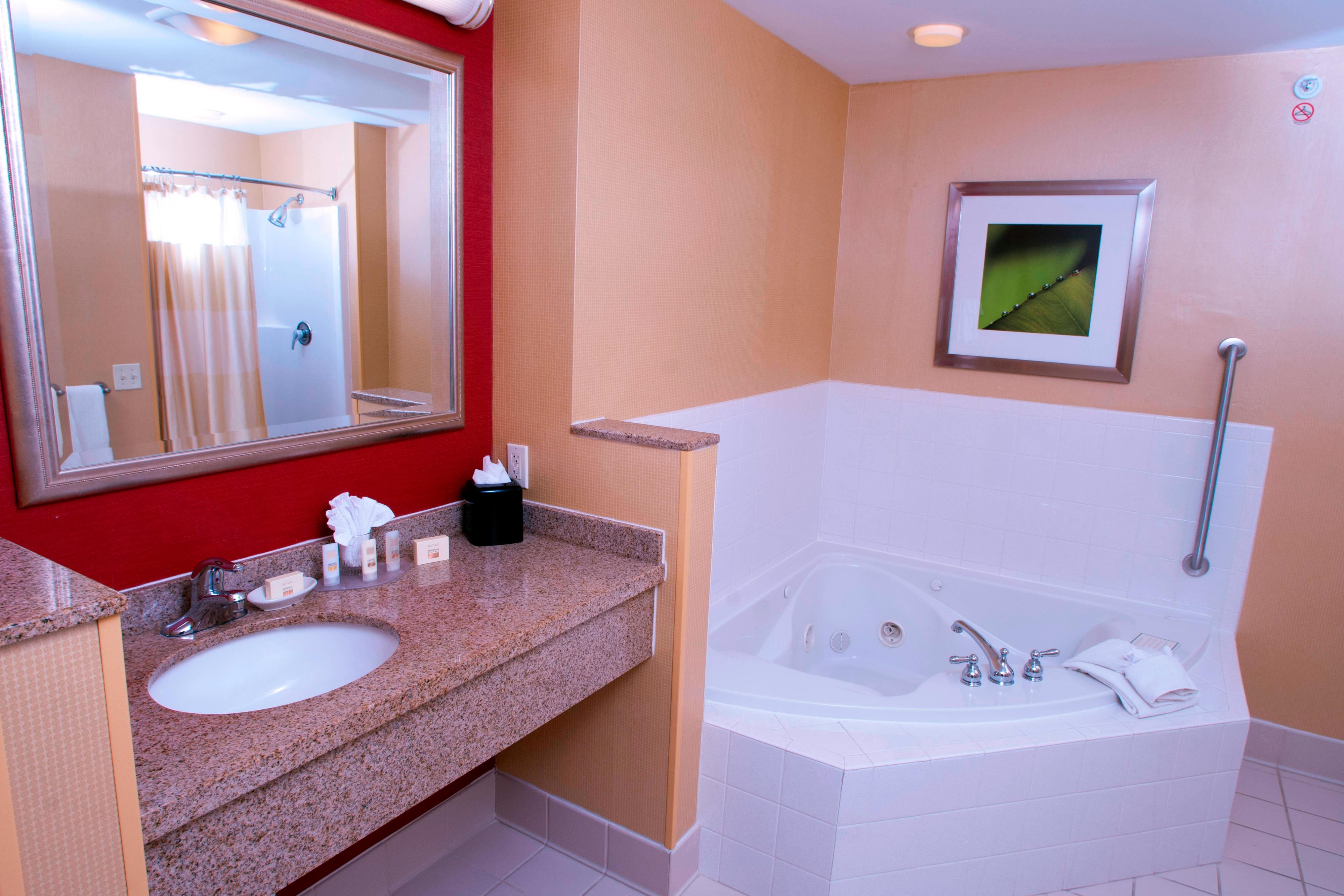 King Suite Larger Spa Bathroom