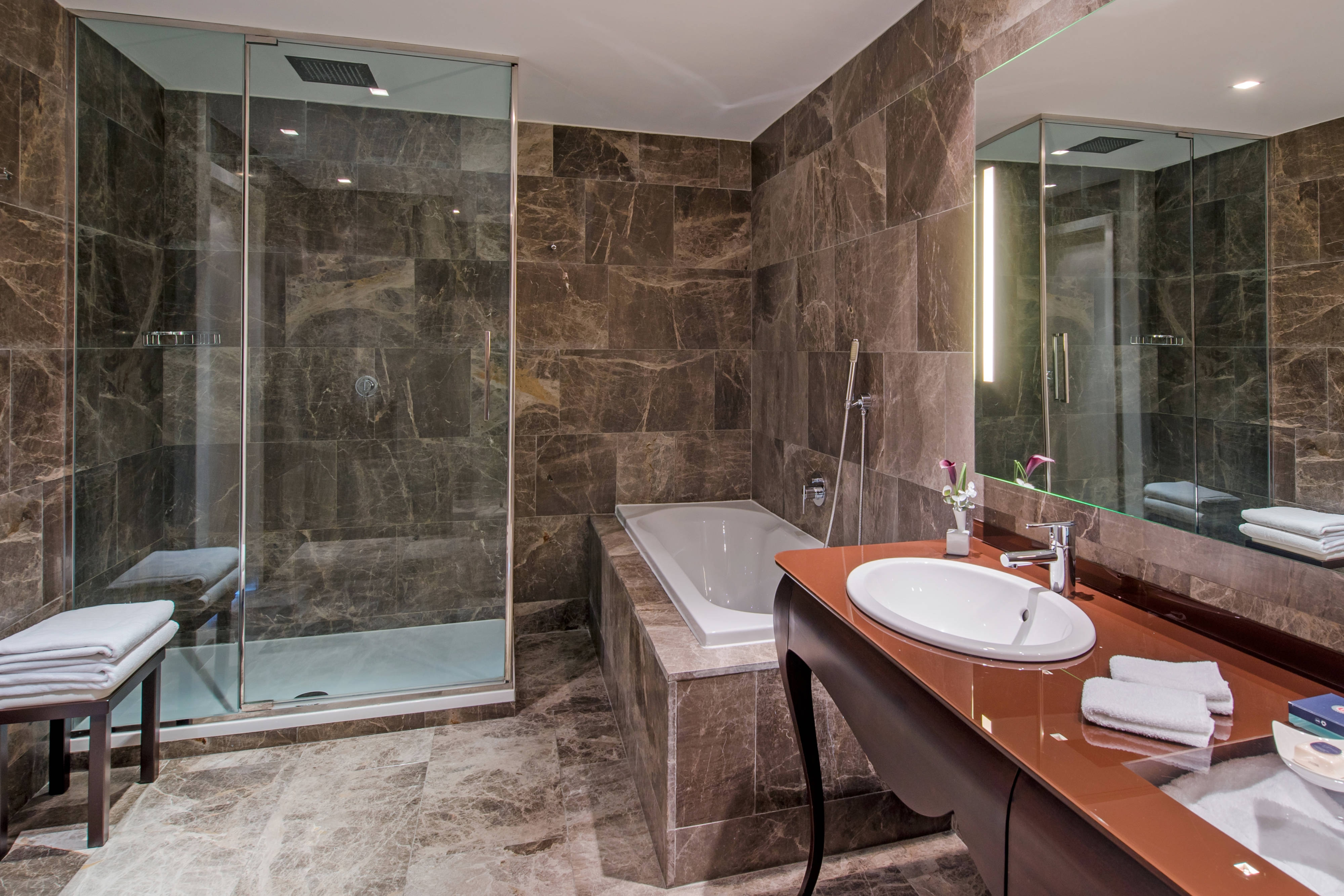 Boscolo Budapest Exclusive Room Bathroom