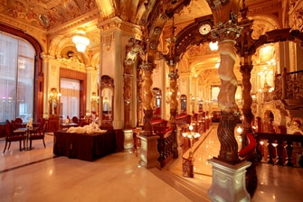 Restaurant in Luxushotel in Budapest