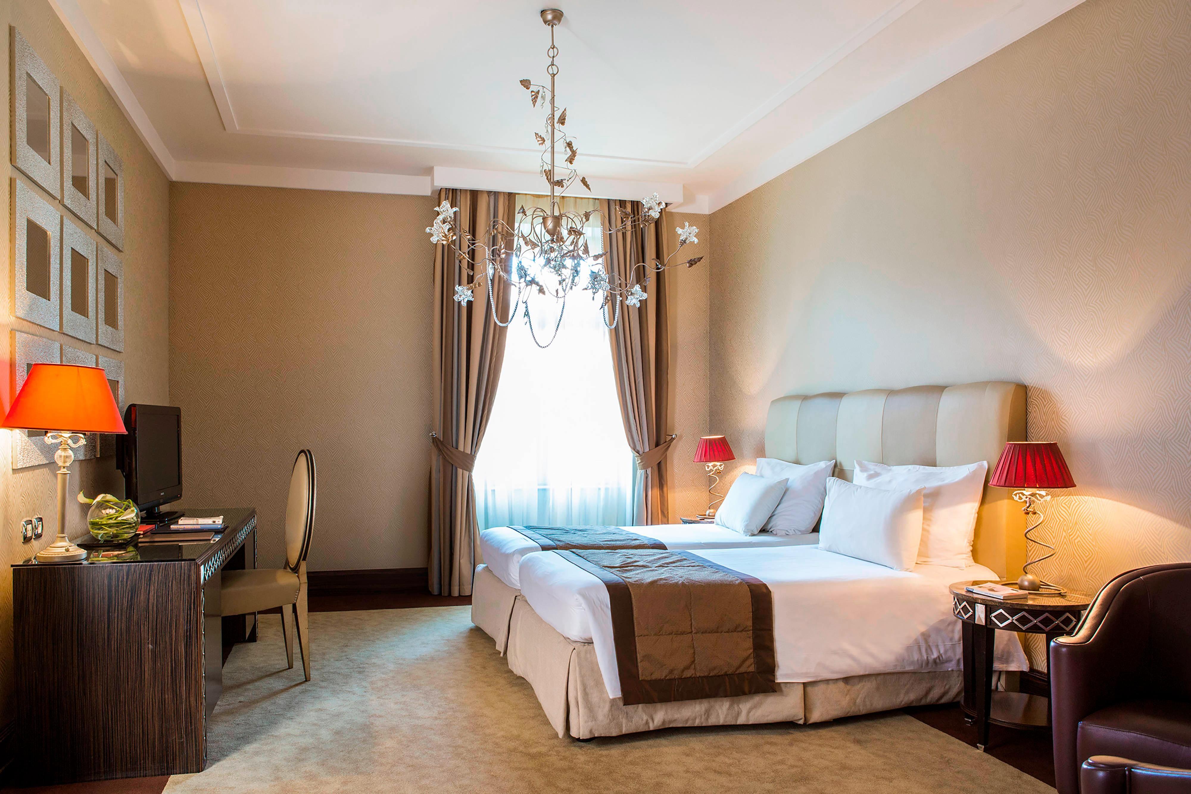 Geräumiges Hotelzimmer in der Innenstadt von Budapest