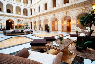 Lobby in 5-Sterne-Hotel in Budapest