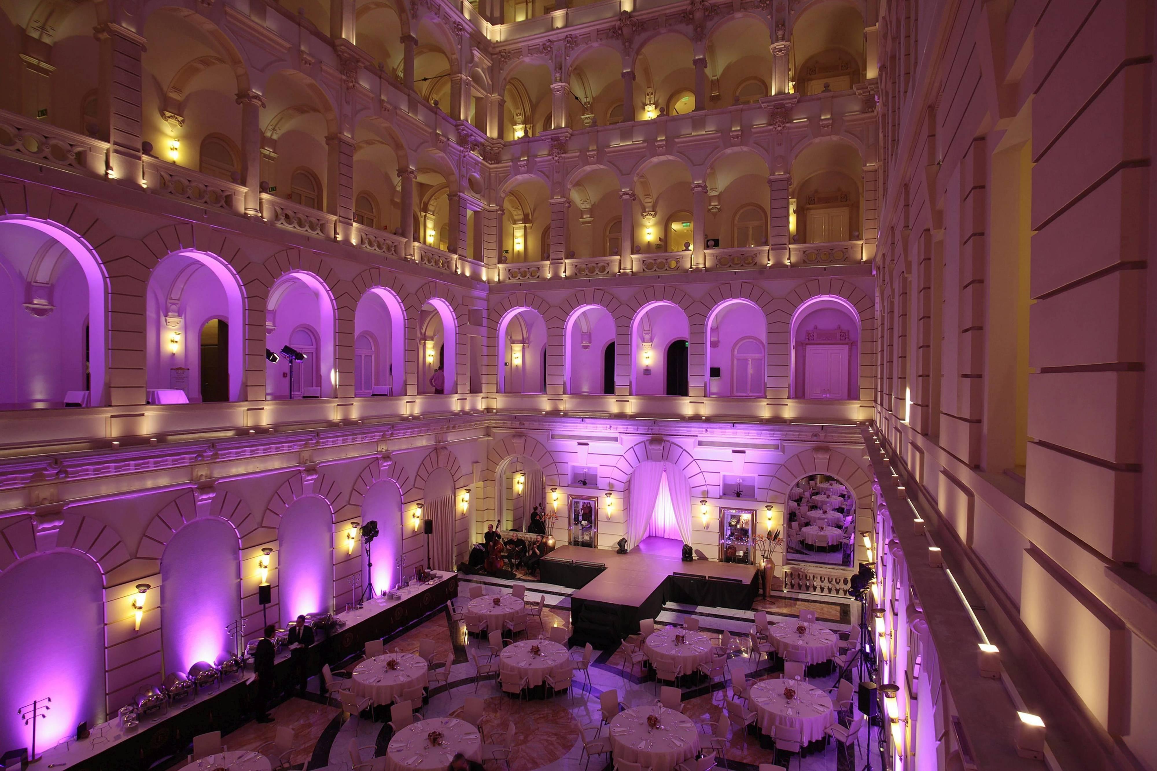 Luxuriöser Veranstaltungsraum im Hotel in Budapest