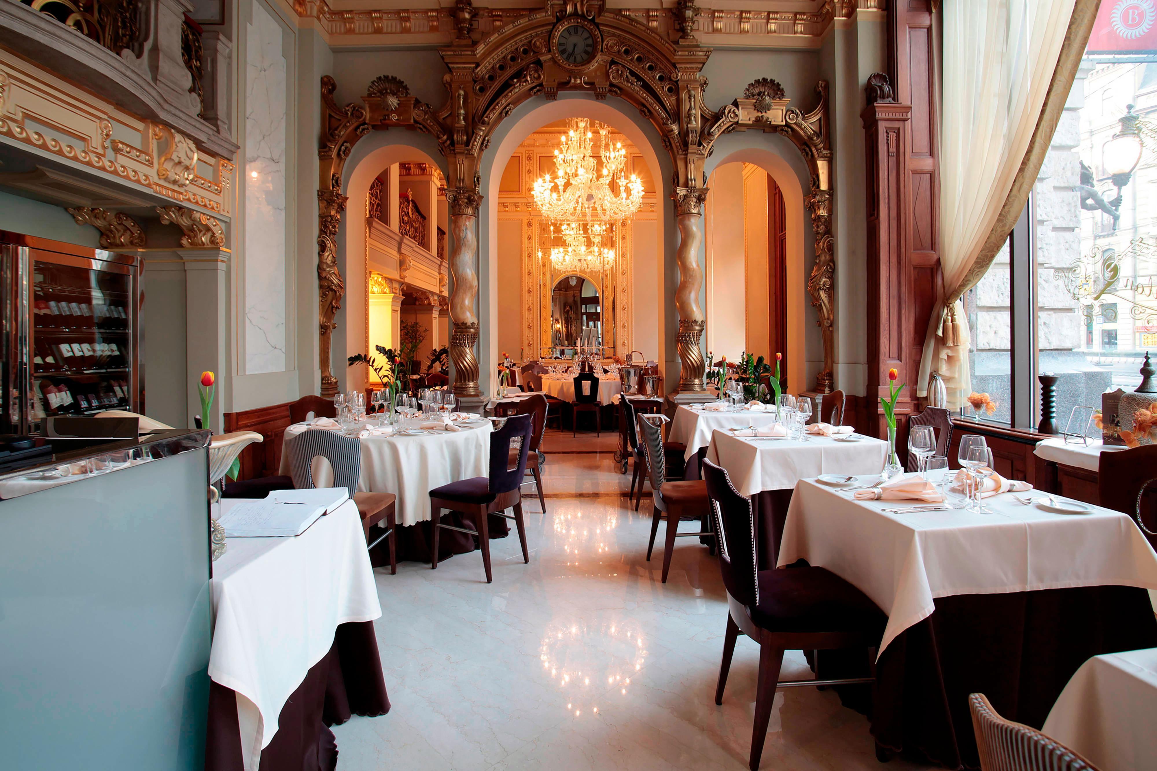 Ungarisches Restaurant in der Innenstadt von Budapest