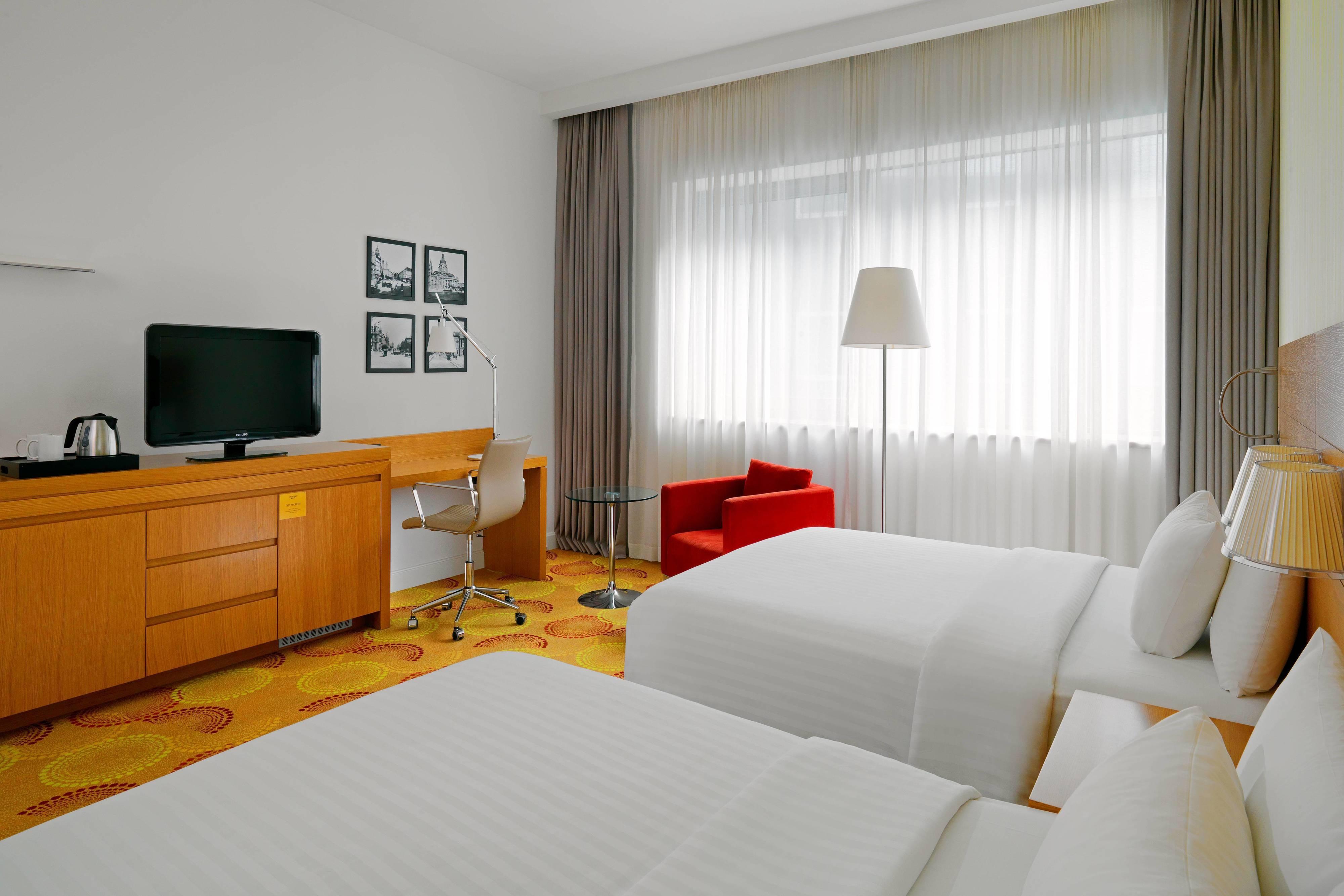 Grande chambre Deluxe avec deux lits doubles