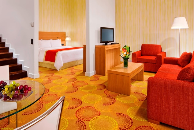Courtyard Marriott Budapest Junior Suite
