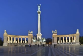 Budapest, Hungary Heroes' Square