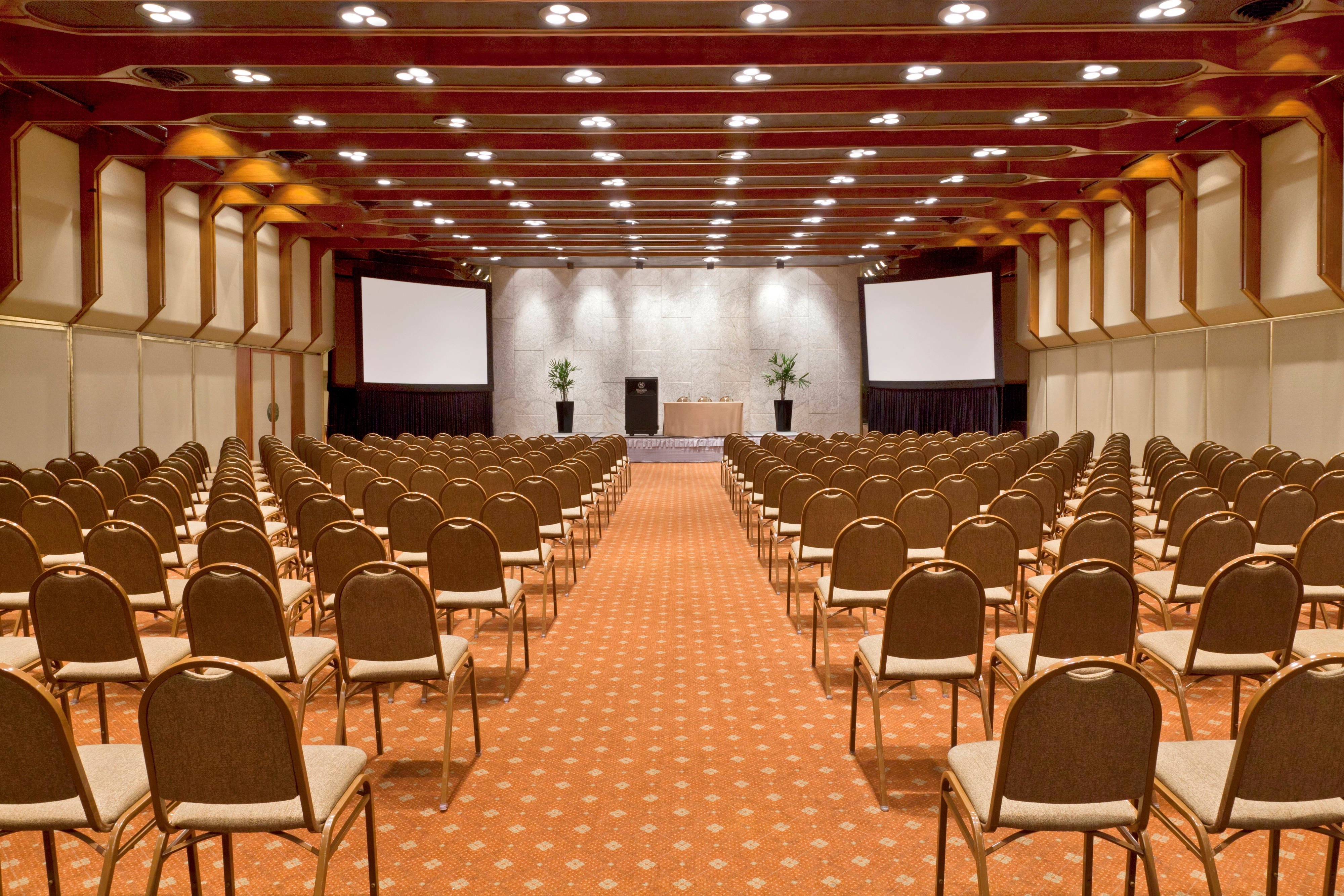 Grand Bourg Ballroom - theater setup