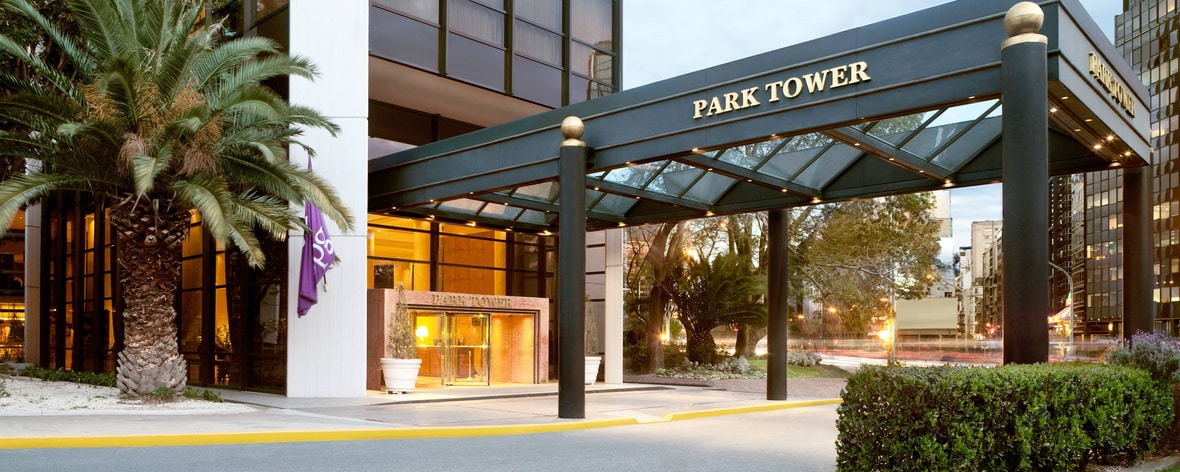 Ingresso di Park Tower