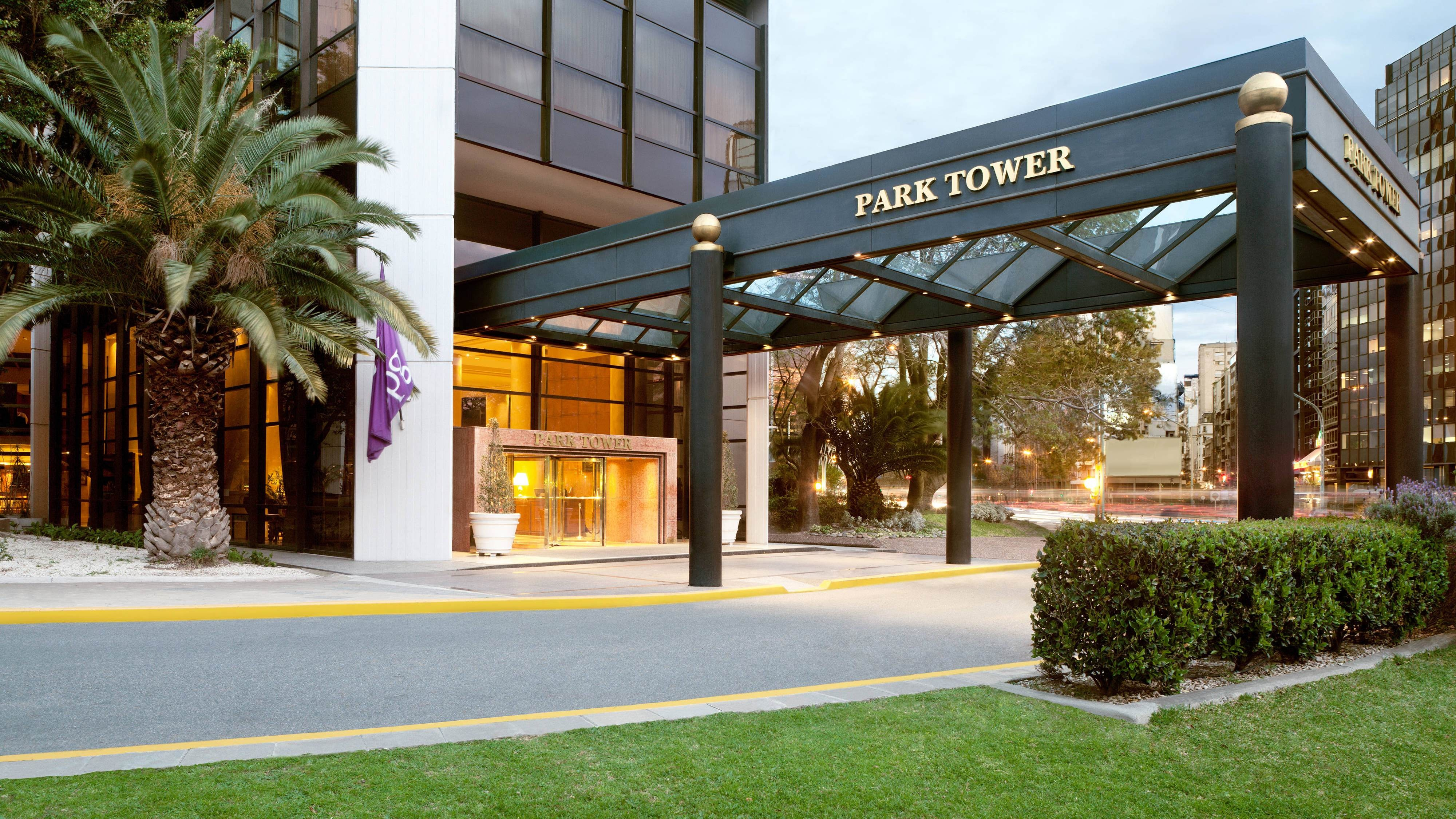 Park Tower Entrance