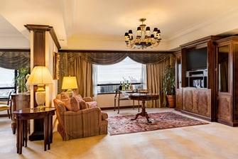 Suíte Governor Terrace – Sala de estar