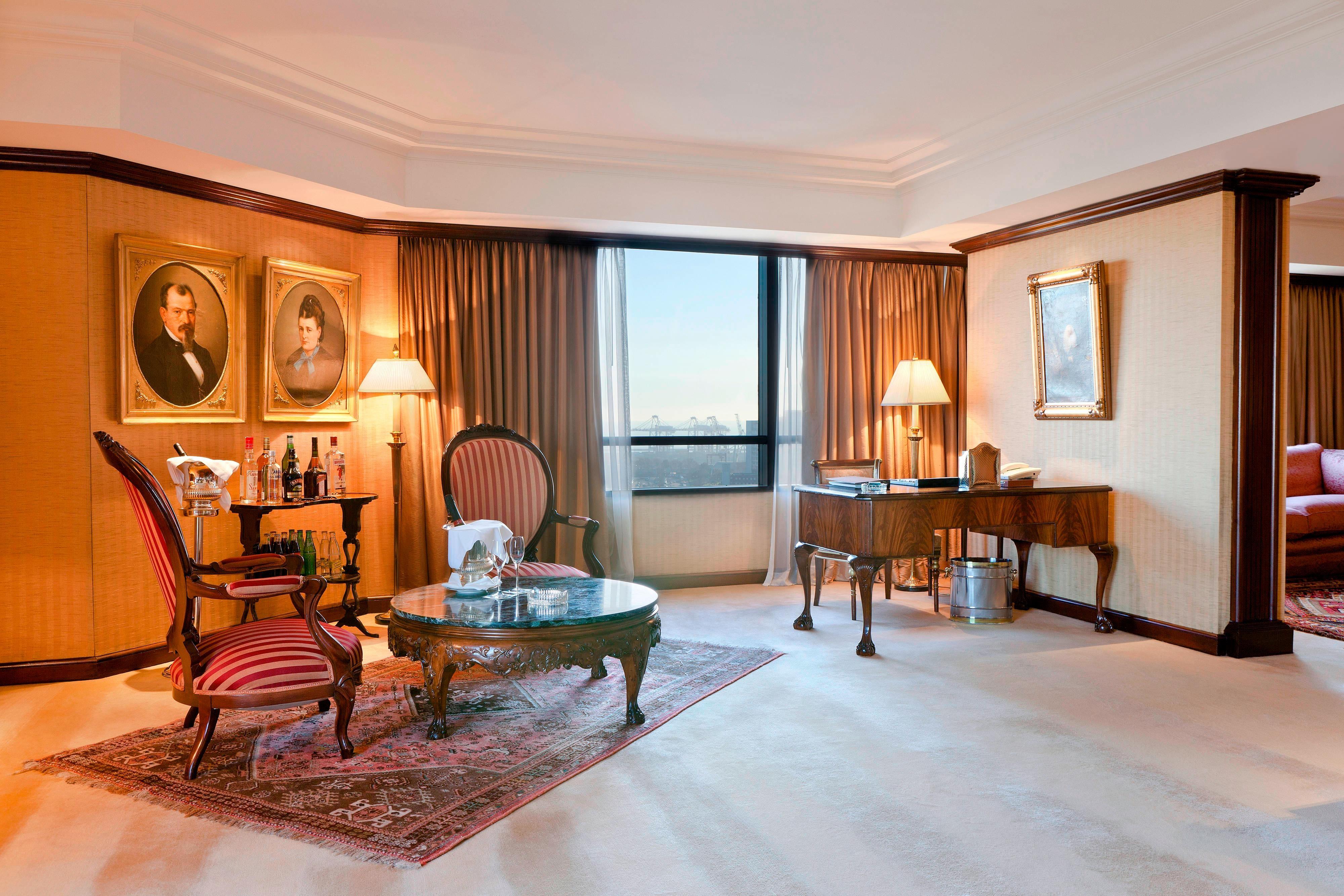 Senator Suite– Wohnzimmer