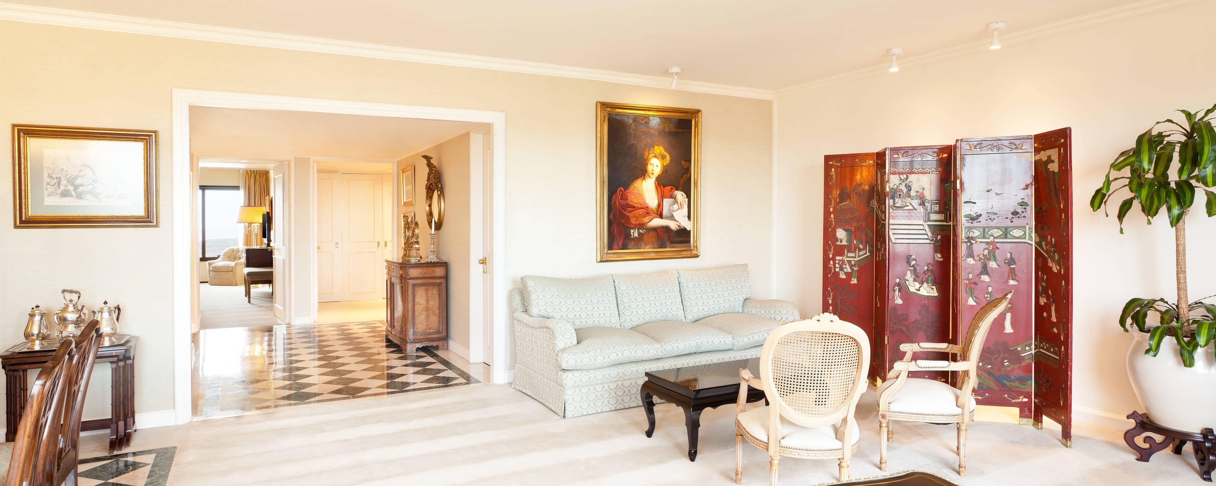 Suite Belgrano Living Room