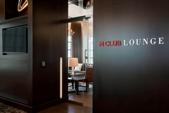 M Club Lounge Buffalo Marriott Hotel