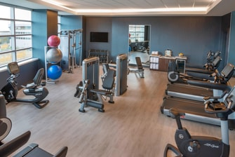 HARBORCENTER Marriott Hotel Fitness Center