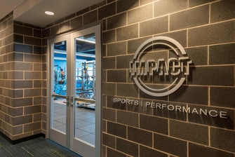 Buffalo Marriott HARBORCENTER Impact Gym