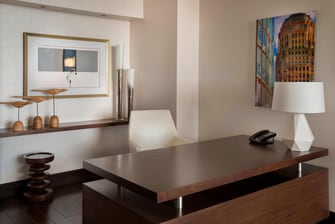 Presidential Suite Office at the Buffalo Marriott