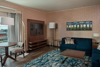 Junior Suite Buffalo Marriott Hotel