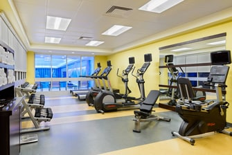 Buffalo NY Hotel Fitness Center