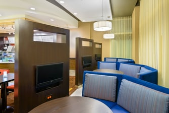 Canalside Buffalo NY Hotel Private Seating