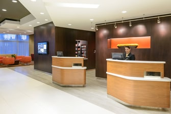 Hotel in Downtown Buffalo NY Front Desk