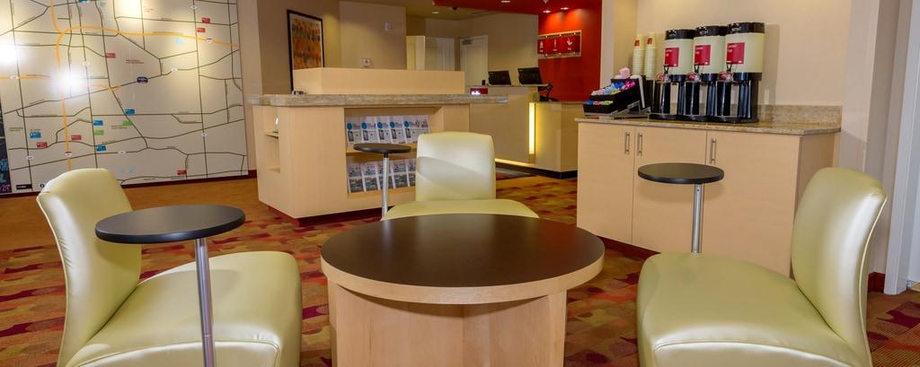 Buffalo Airport Hotel Lobby