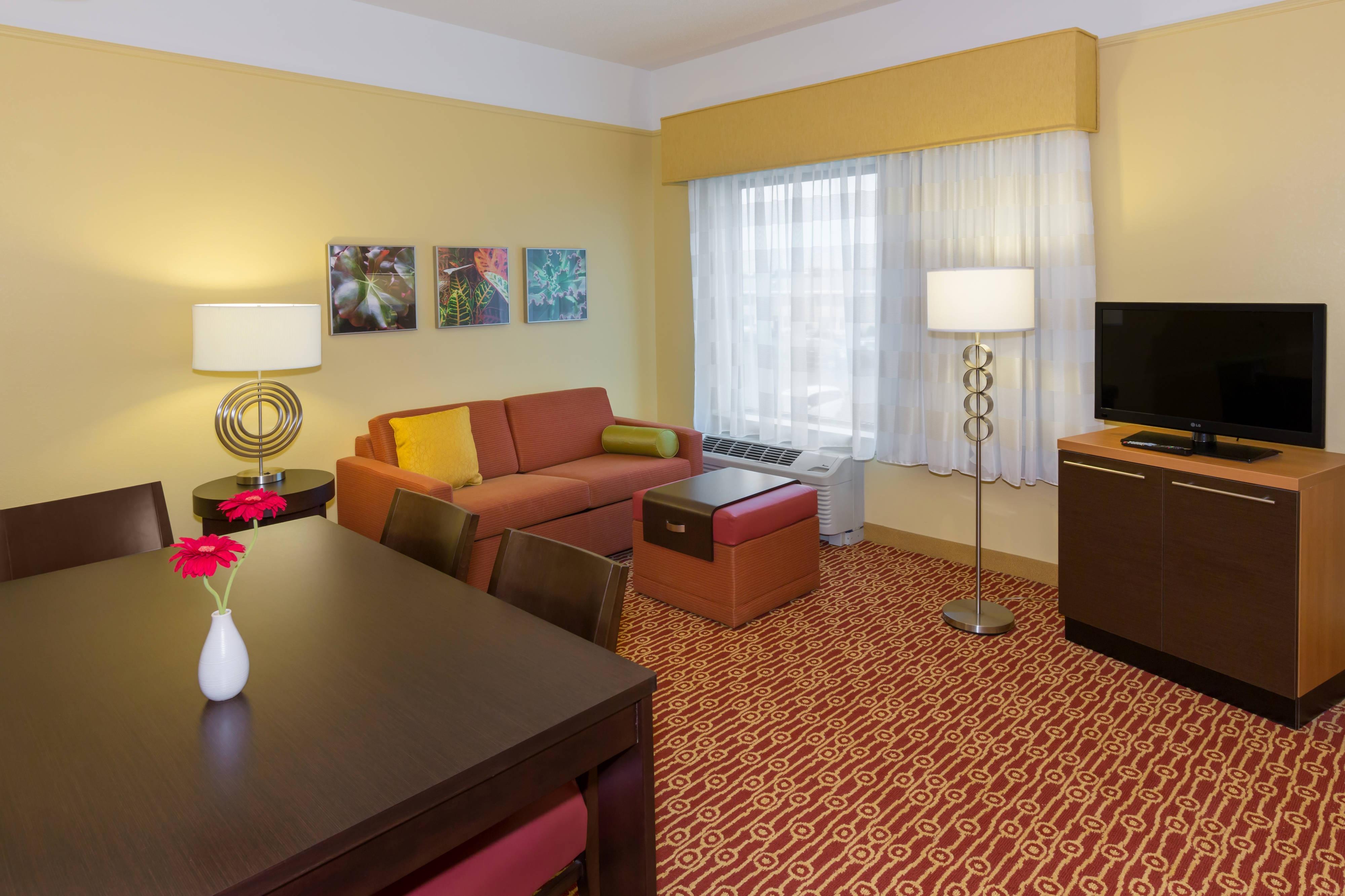 Buffalo Hotel Suite Living Area