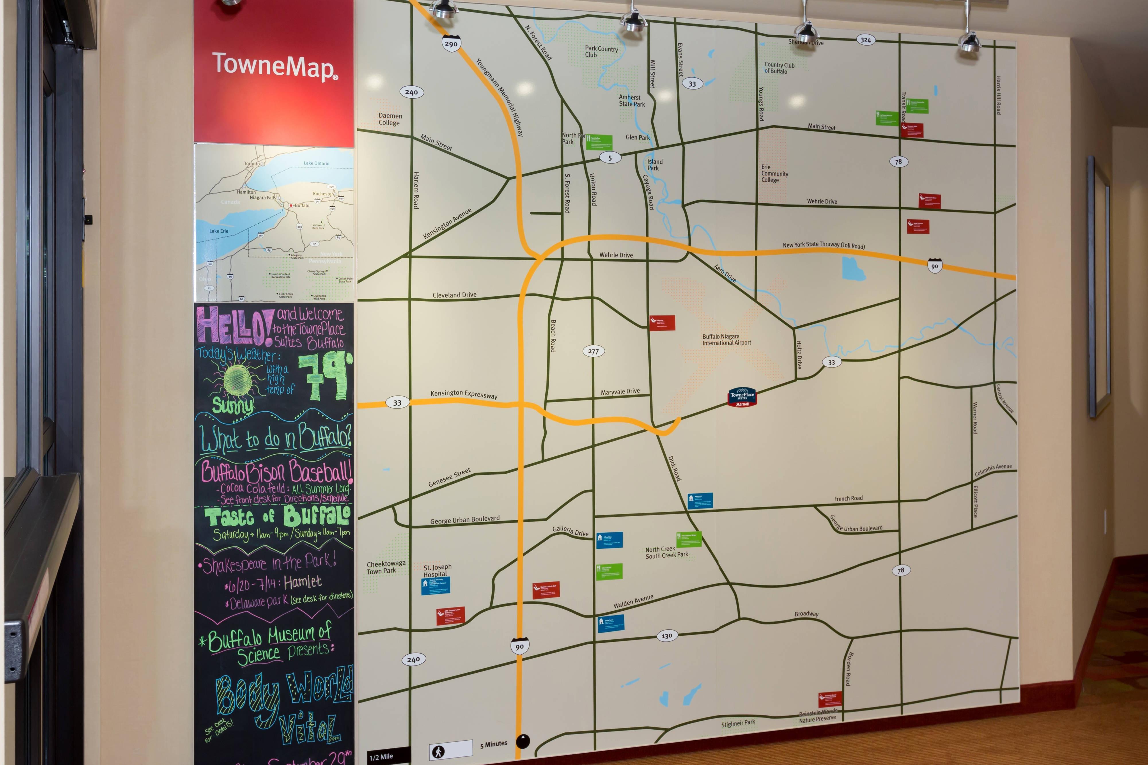 Buffalo Area Map