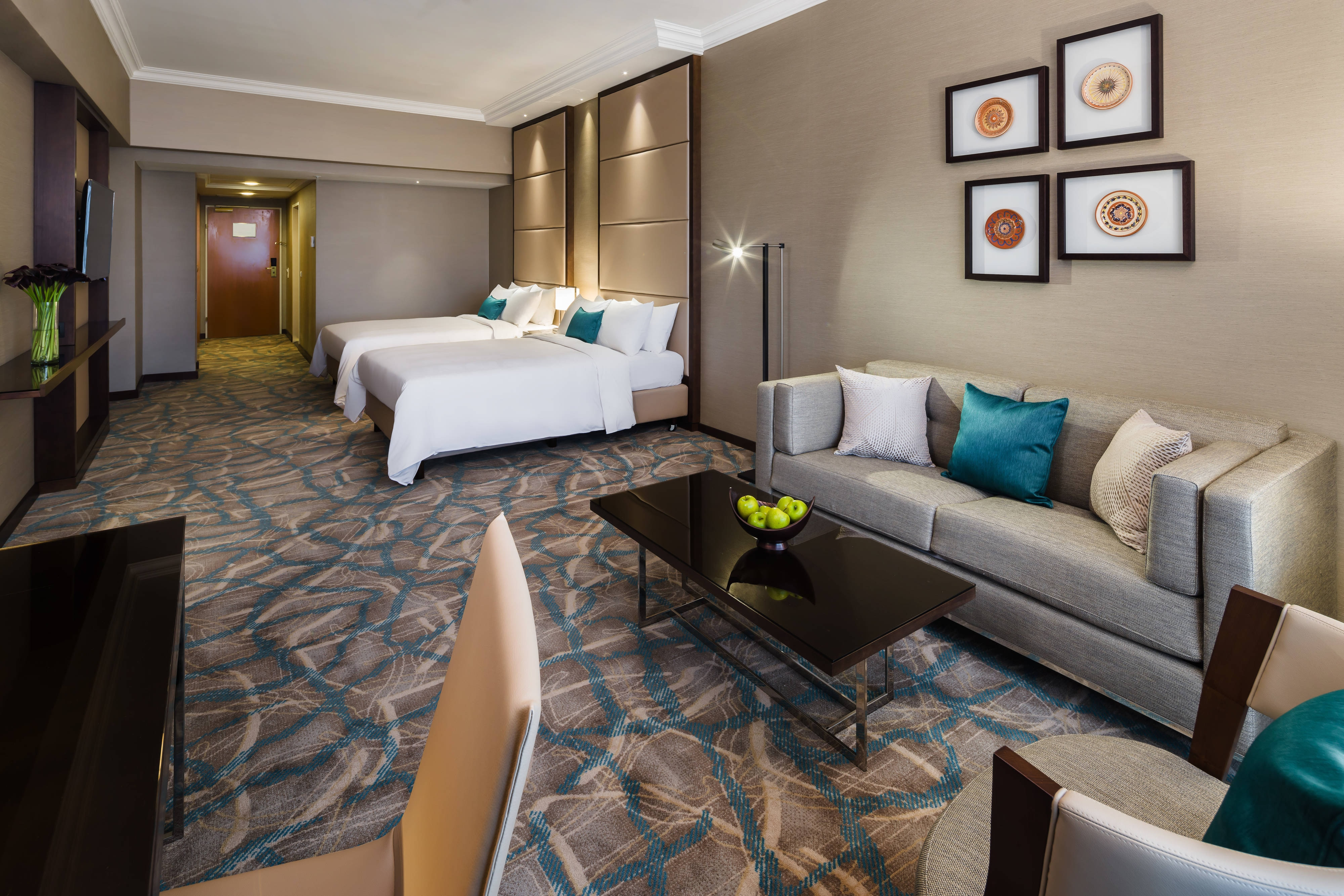 Grand Double/Double Guest Room