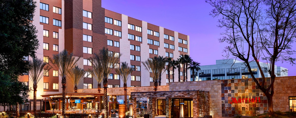 4 Star Hotel In Burbank Ca Los Angeles Marriott Burbank