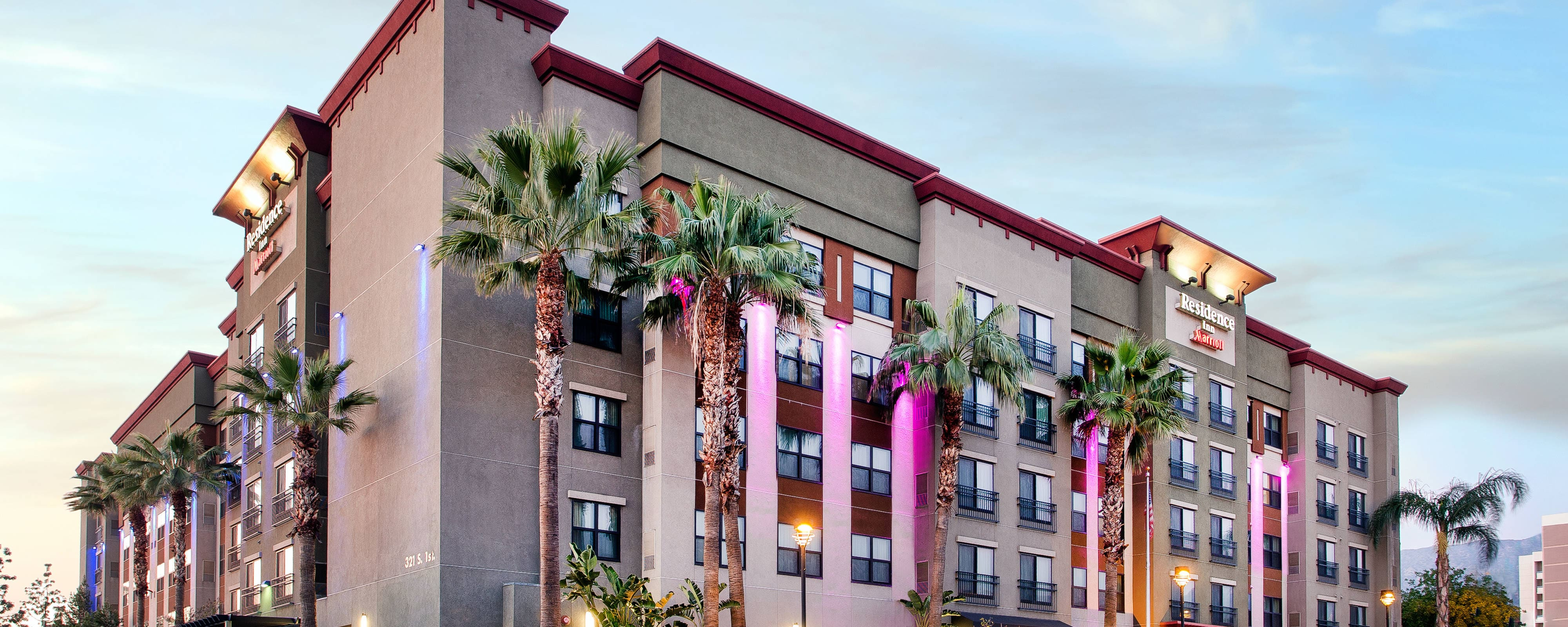 Burbank California Hotels Residence Inn Los Angeles
