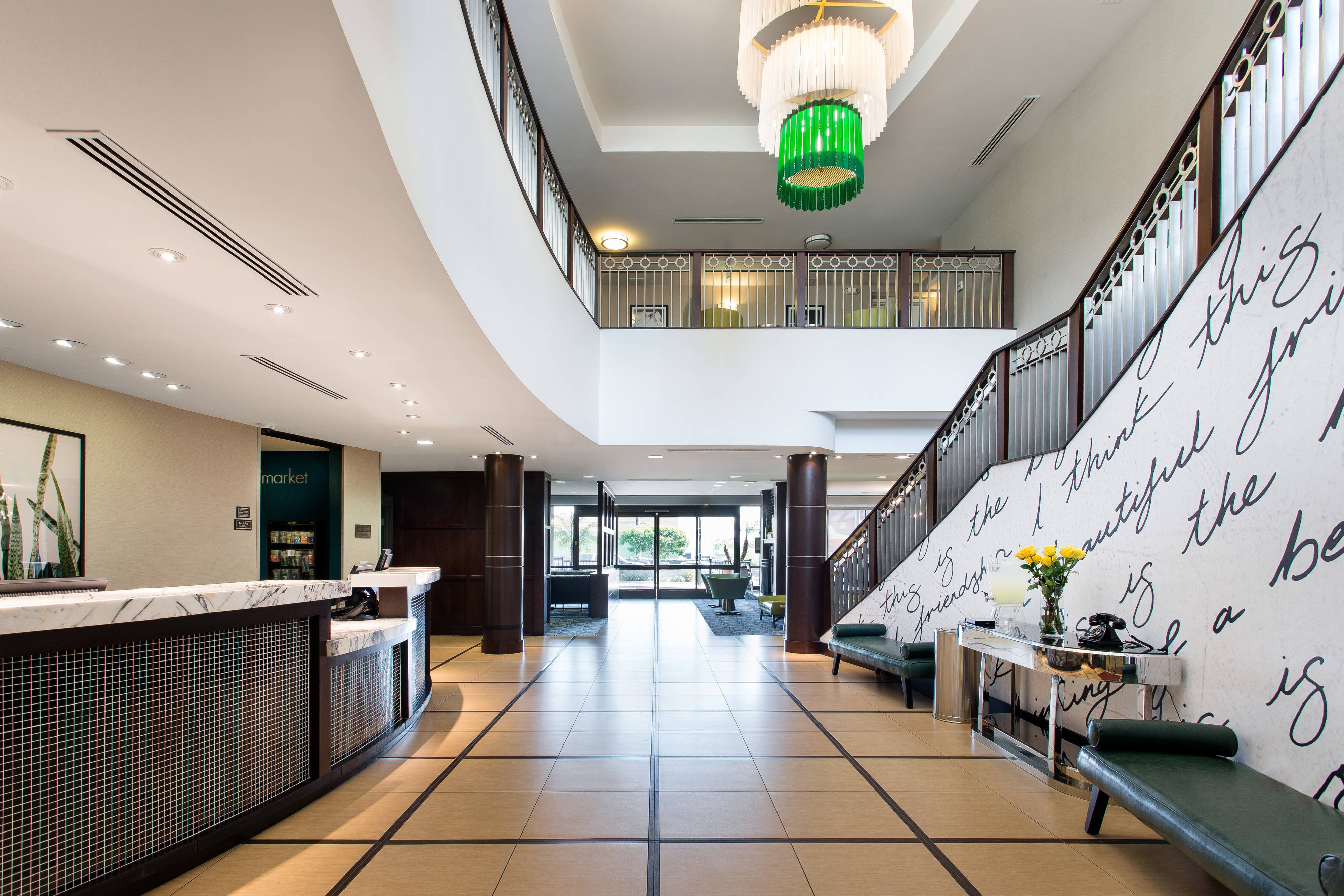 Lobby in Burbank CA Hotel
