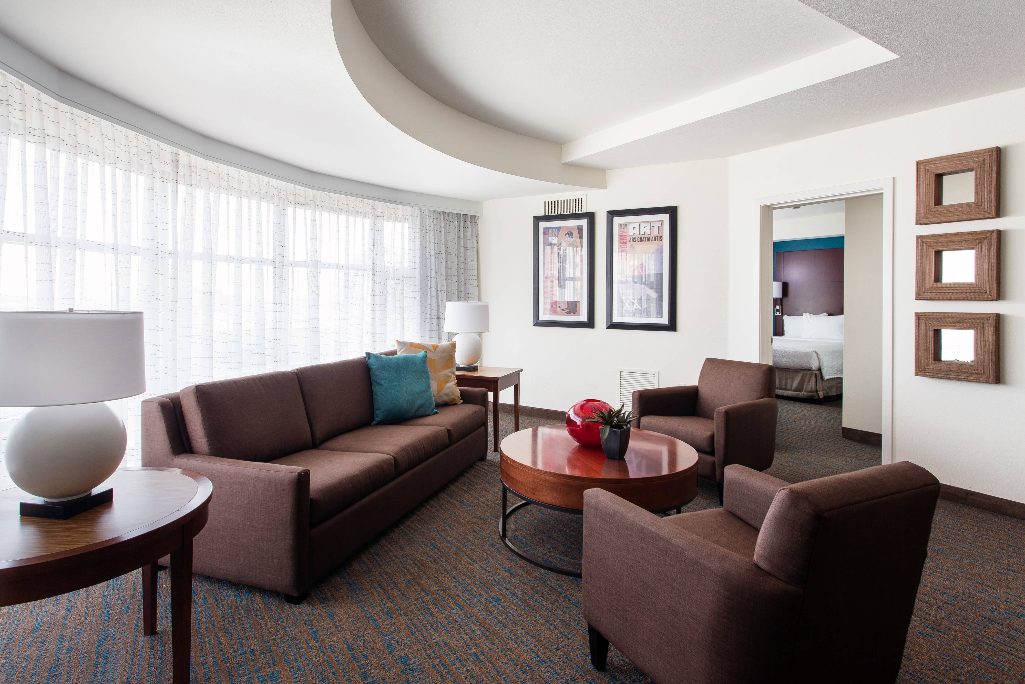 Two-Bedroom Executive Suite - Living Area