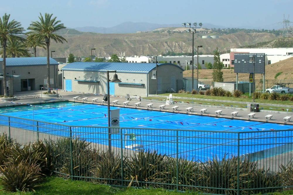 Aquatic Center – Santa Clarita Courtyard