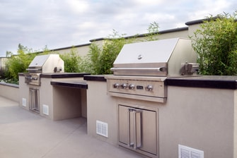 Large Outdoor Grill Stations