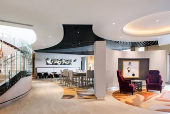 Stylish Lobby Seating Spaces