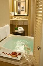 King Guest Room with Whirlpool