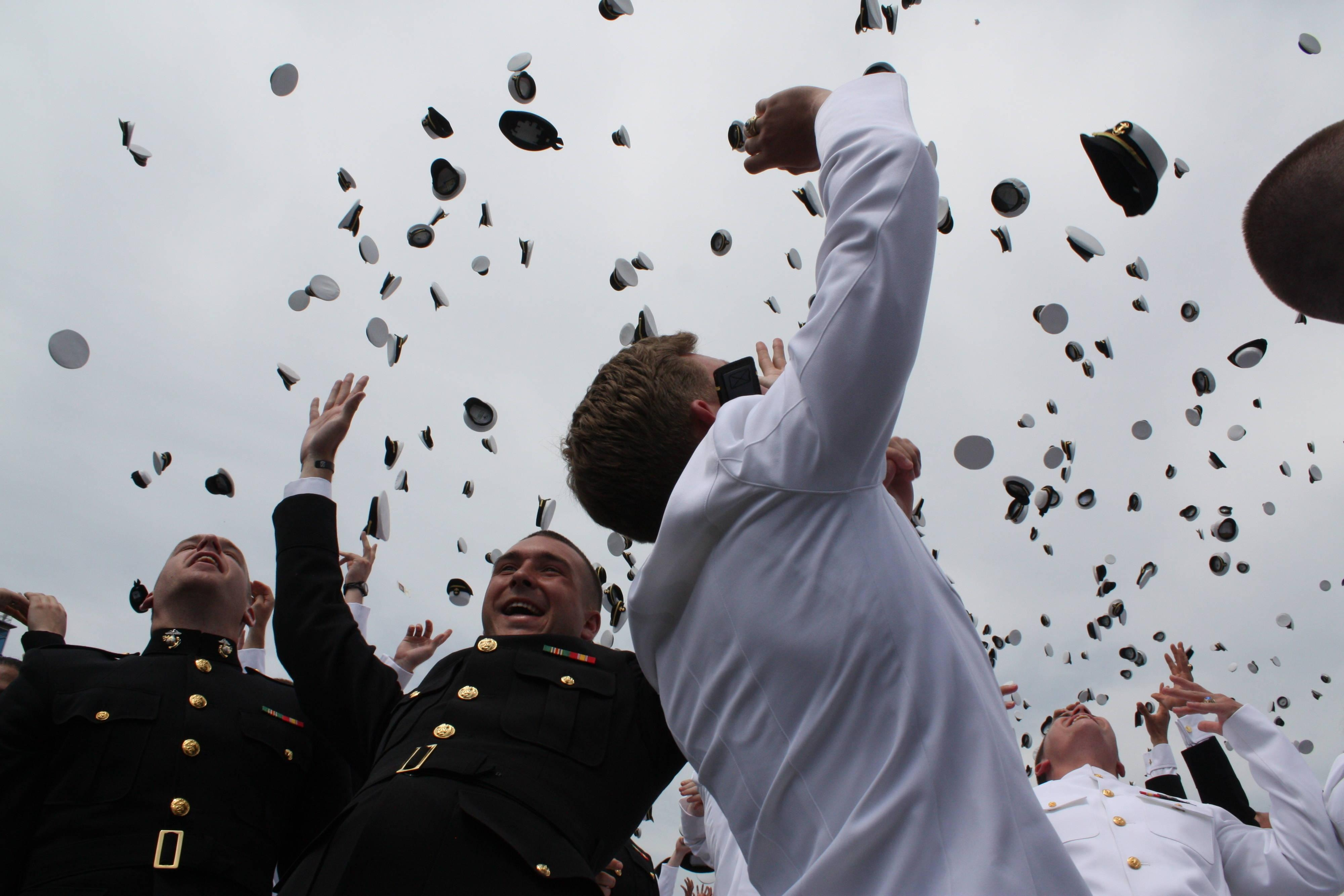 U.S. Naval Academy Commissioning