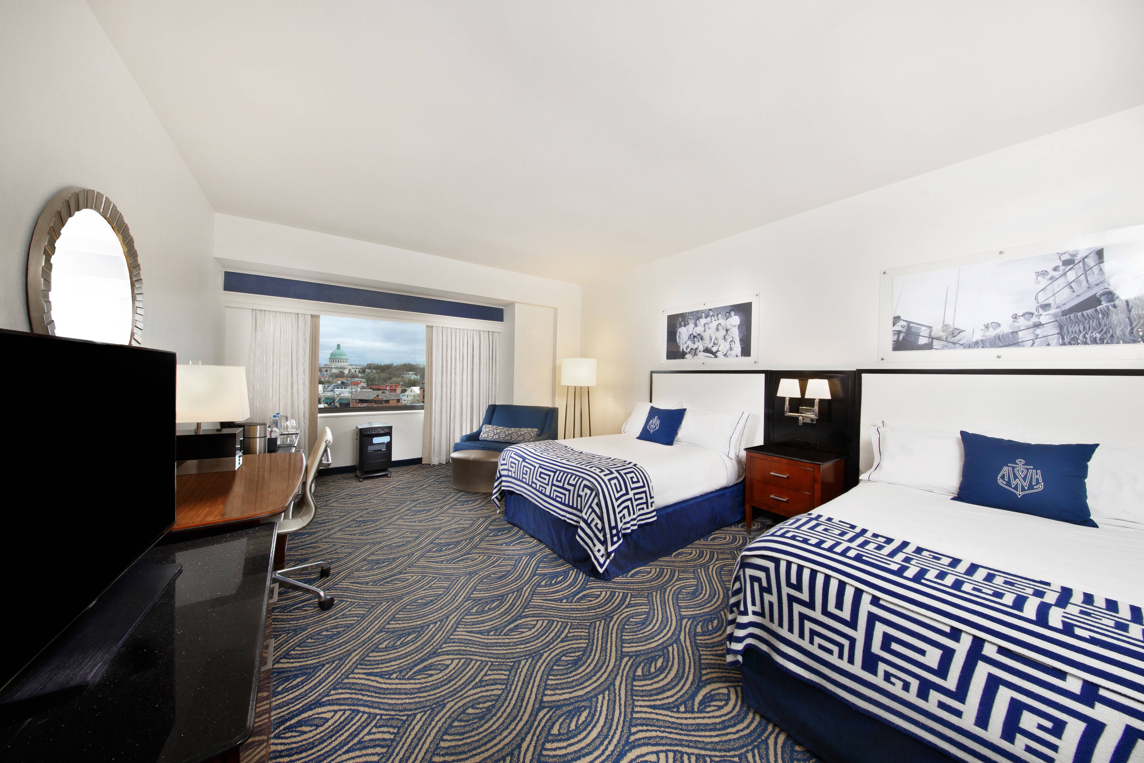Double/Double Pure Allergy Friendly Guest Room