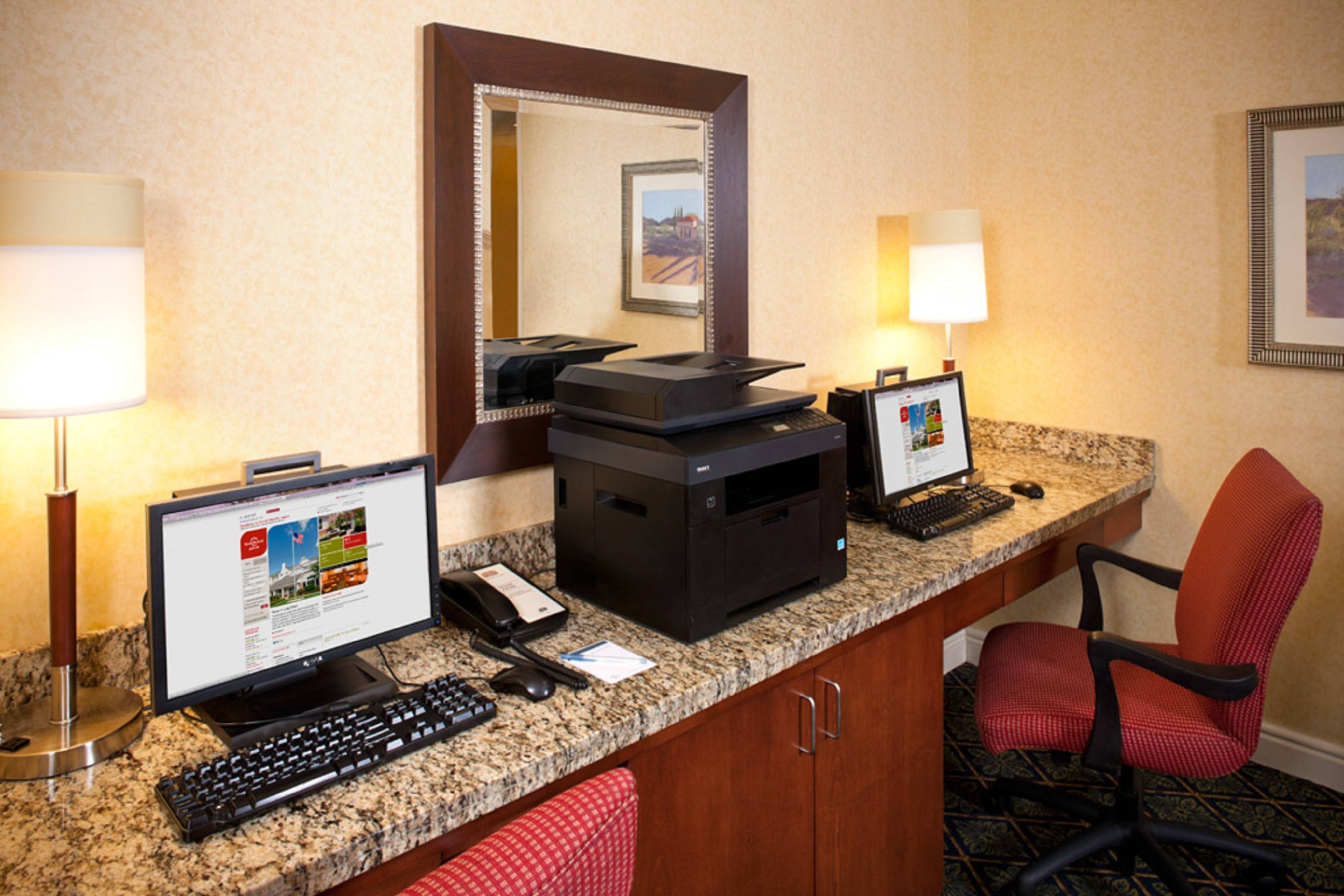 BWI Hotel Free Business Center