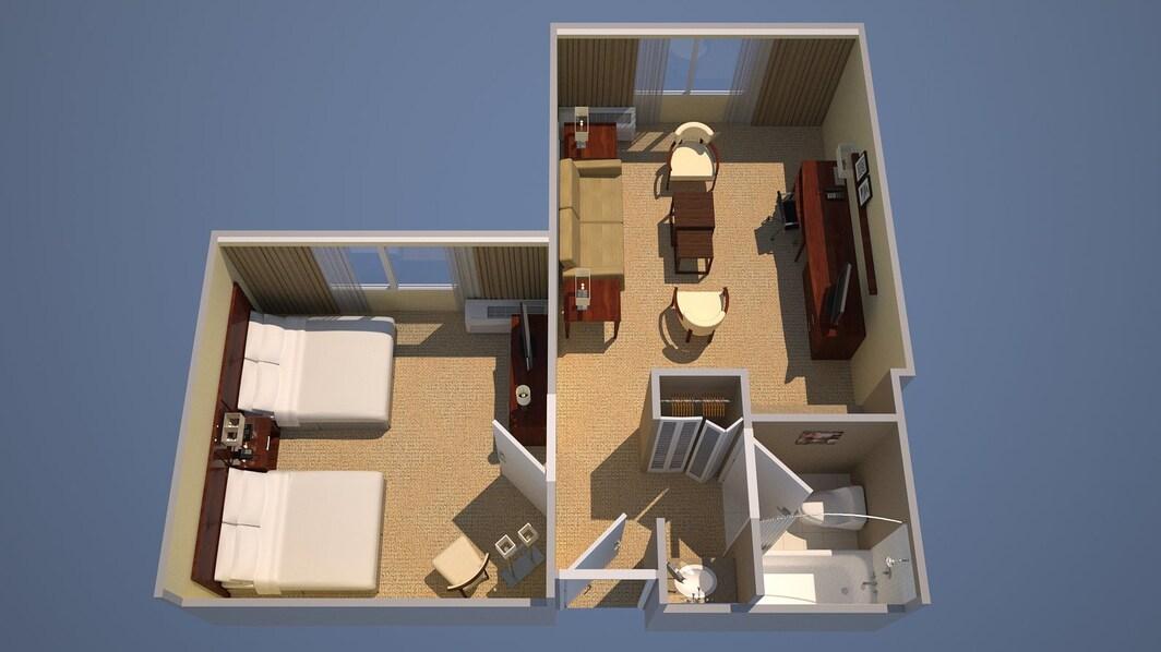 2 Double Suite