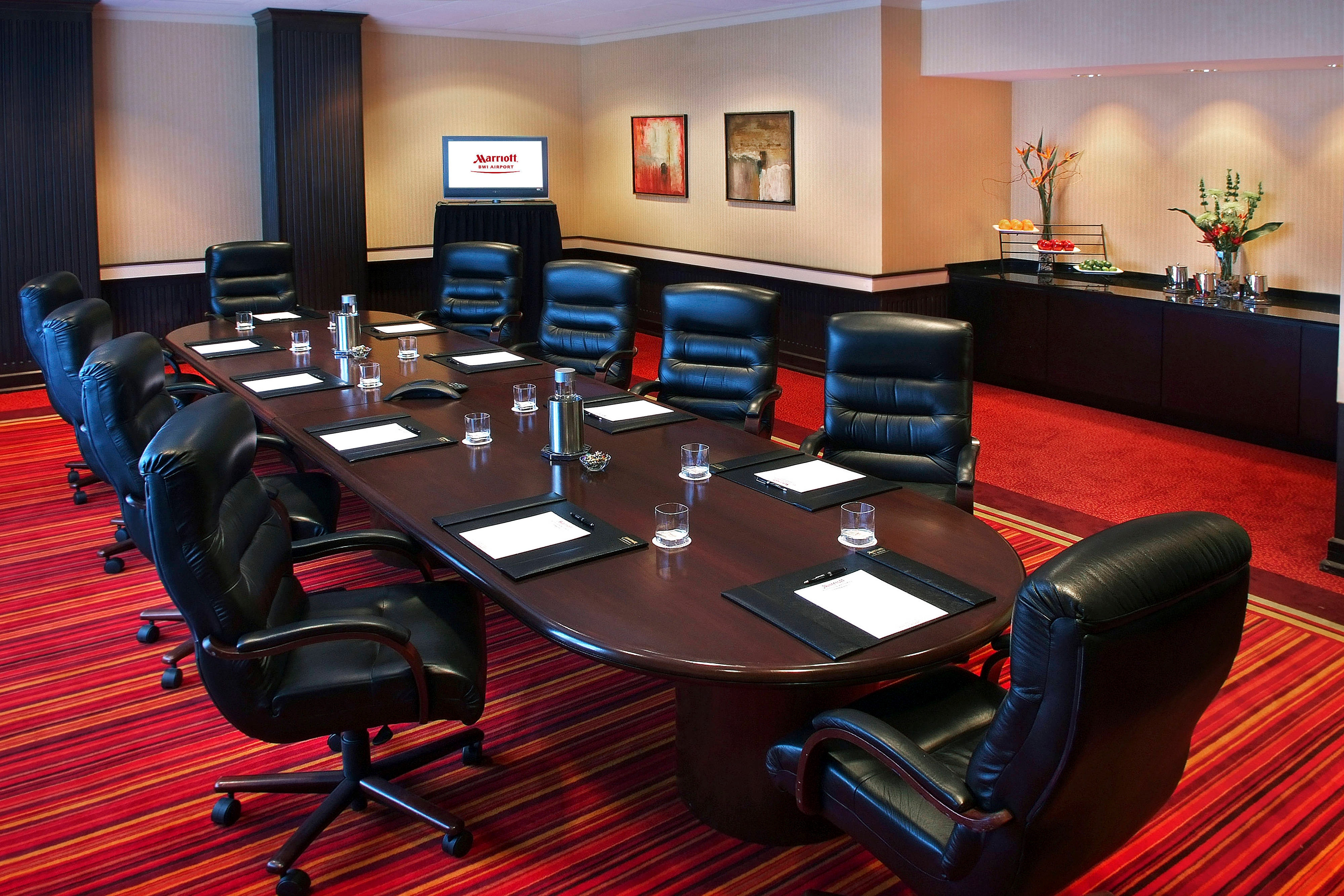 BWI airport hotel executive boardroom