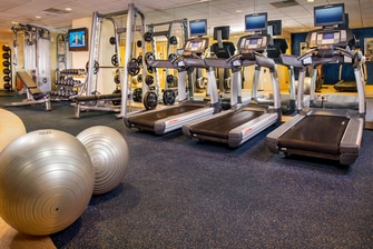 Gimnasio del BWI Airport Marriott