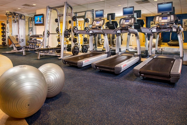 BWI hotel fitness center